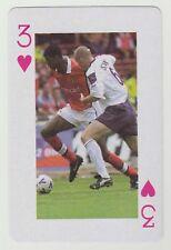 Football World Cup 2006 Playing Card single Kanu Arsenal & Jaap Stam Man United