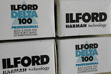 Pellicules Ilford Delta 100 24x36 3 films noir et blanc 24 poses pro neuf 2018