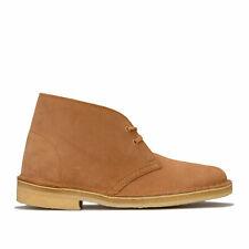 Womens Clarks Originals Desert Boots In Light Tan