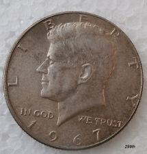 """1967 J.F. KENNDY HALF DOLLAR  """" Error.""""  (A)"""