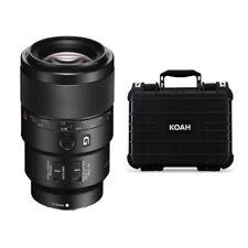 Sony FE 90mm f/2.8 Macro G OSS Full-Frame E-Mount Macro Lens bundle
