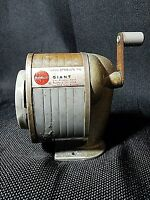 Vintage Apsco Giant Pencil Sharpener Type 3A Cutter Assembly Wall Or Desk Mount