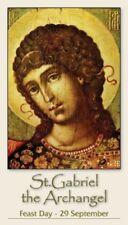 ST GABRIEL THE ARCHANGEL PRAYER CARD (wallet size)