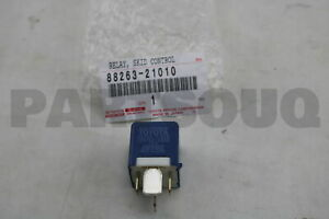 8826321010 Genuine Toyota RELAY, ABS MOTOR 88263-21010