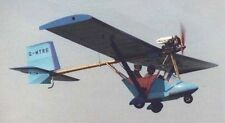 MW-6 Whittaker MW6 Ultralight Airplane Desktop Wood Model Big New
