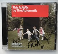 The Automatic - This Is a Fix (2008) SIGNED CD Album w Steve McQueen Autographed