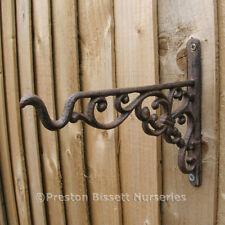 Cast Iron Decorative Hanging Basket Bracket Small
