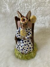 Royal Doulton Bunnykins Susan Queen of the May Figure  DB83 Figurine