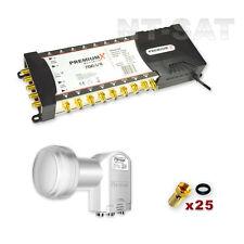 satélite multi-interruptor PremiumX 5/16 + Quattro LNB digital para HDTV 3d HD