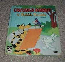 1960 Crusader Rabbit In Bubble Trouble Nancy Hoag Robert Bemiller Top Top Tales