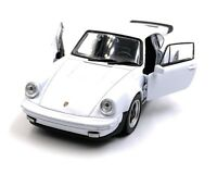 Porsche 911 Turbo 930 Sports Car Model Car Car White Scale 1:3 4 (Licensed)