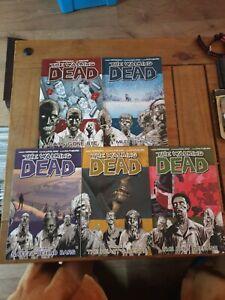 The Walking Dead Comics Bundle 1-5 Like New