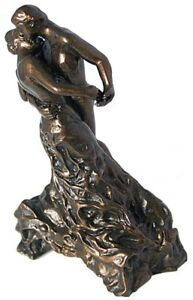 Pocket Art The Waltz La Valse by Camile Claudel 4H Parastone Lovers Dancing