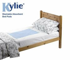 Kylie® Bed Pads Washable Absorbent Incontinence Sheets -Various Sizes and Colour
