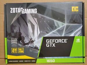 ZOTAC ZT-T16520F-10L GAMING GeForce GTX 1650 OC 4GB GDDR6 Gaming Graphics Card