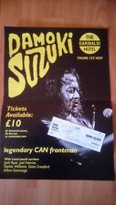 DAMO SUZUKI(CAN)-GIG POSTER+TICKET SIGNED