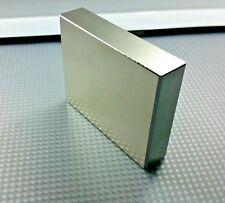 "1 Huge Neodymium Magnets. Super Strong Rare Earth N52 grade 3"" x 2.3"" x .65"""