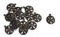Indian Floral Metal 6 PC Appliques Patch Craft Accessories Handmade Decorative