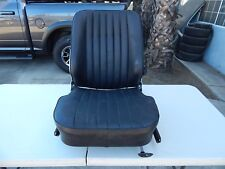 R107 1984-1989 560SL 380SL SEAT WITH FRAME RIGHT BLACK ** HEATED TYPE **