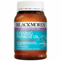 BLACKMORES EVENING PRIMROSE OIL 190 CAPSULES NATURAL SOURCE OF OMEGA-6 AND GLA