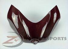 2006 2007 GSXR600 GSXR750 Gas Tank Air Box Cover Fairing 100% Carbon Fiber Red