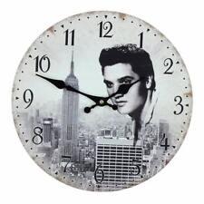Elvis Presley Vintage Style Wall Clock 30cm Gift  W7866