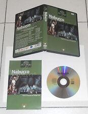 Dvd Giuseppe Verdi NABUCCO Paolo Carignani Renato Bruson Maurizio Frusoni