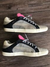 Alexander Mcqueen Puma Street Climb Low Grey Black Pink Shoes Rare Euc 12 Gray