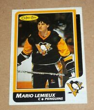 Mario Lemieux 1986 OPC Box Bottom # 1