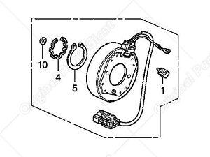 38924RCAA01 Clutch Coil for Acura Honda