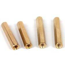 20PCS Brass Female-Female Threaded Standoffs Spacers M2 x (3mm-20mm)