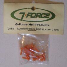 G-Force Crash kit For Bottom Frame Braces For Trex 600N GFT6151