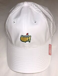 2021 Masters golf hat white ladies fit performance american needle pga new