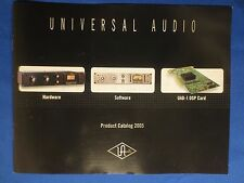 UNIVERSAL AUDIO 2-1176 2-610 LA-610 8110 FAIRCHILD  SALES BROCHURE ORIGINAL