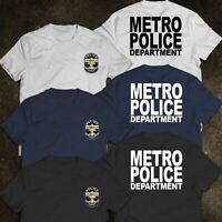 NEW POLICE LOUISVILLE METRO DEPARTMENT LMPD CUSTOM MEN'S T-SHIRT USA SIZE