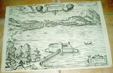 Gmunden: alte Ansicht Braun Hogenberg Bannstadt 1940