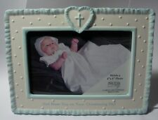 """ENESCO  """"CHRISTENING PICTURE FRAME"""" 4018093  MINT IN BOX"""