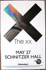 THE XX 2013 Gig POSTER Portland Oregon Concert