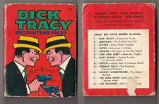 Dick Tracy, Big Little Book, Encounters Facey, Hardcover, Hc, 1967