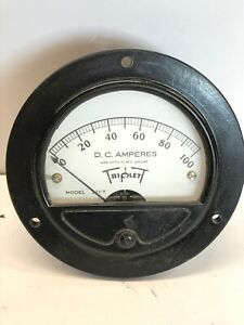 Triplett Model 321-T D.C Microamperes Guage With Leads