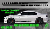 2011 2012 2013 2014 2015 Dodge Charger Rocker Strobe Graphic Decals Sxt Hemi Srt