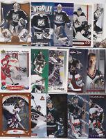 Nikolai Khabibulin 27 Different Card Lot With Inserts Coyotes NHL Hockey