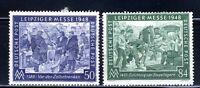 1948 Germany Semi-Postal Stamp Deutsch 2-STAMP SET  MNH OG