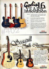 More details for godin and seagull guitar advert - 1997 emd advertisement