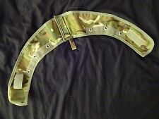 British Army Osprey MK4 BODY ARMOUR HALF COLLAR COVER MTP SUPER GR 1 -Two Piece