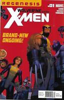 Wolverine And The X-Men Comic Issue 1 Modern Age First Print 2011 Aaron Bachalo