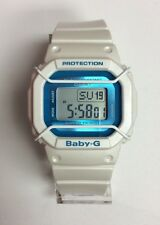 CASIO G-SHOCK Baby-G Wire-Face Protected Blue Dial Digital WATCH BGD501FS-7