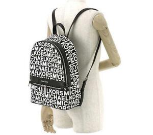 Michael kors Kenly Graphic Logo Jacquard Backpack