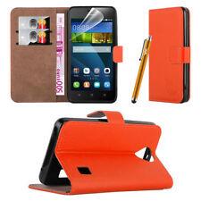 Étuis, housses et coques avec clip orange pour téléphone mobile et assistant personnel (PDA) Huawei