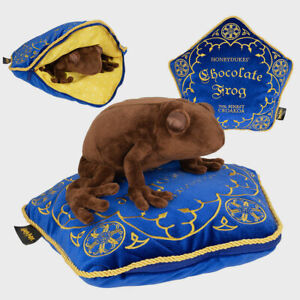 Harry Potter Chocolate Frog Plush and Cushion The Noble Collection